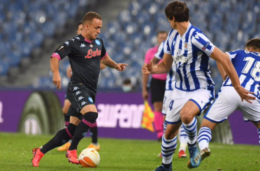 Politano regala i tre punti al Napoli, la Real Sociedad si arrende