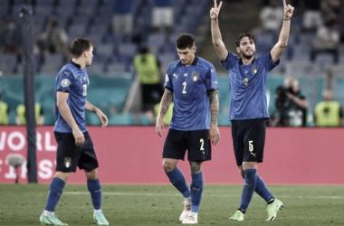 Locatelli firmó un doblete para el triunfo de Italia | Foto: UEFA