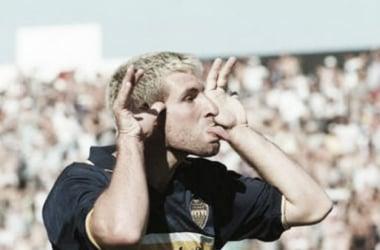Eterno goleador Xeneize. Foto: Web.