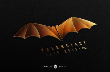 El nuevo símbolo del Valencia. | Foto: Valencia CF