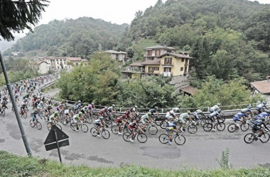 Un instante del Giro de Lombardía del pasado año. Foto: La Gazzetta