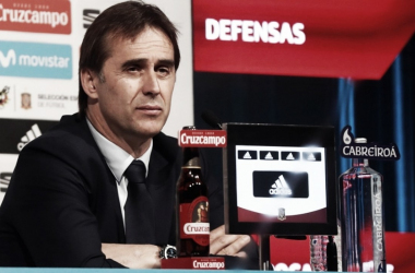 "Lopetegui: ""A Iniesta le trataremos con un barniz especial"""