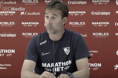 """Lopetegui: """"El Espanyol va a ser un equipo tremendamente exigente"""""""