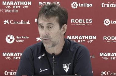 """Lopetegui: """" El Alavés es duro y nos obligará a hacer un gran partido en Vitoria"""""""