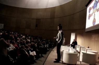 Conferencia en la Universidad de Alicante./ FOTO: UA