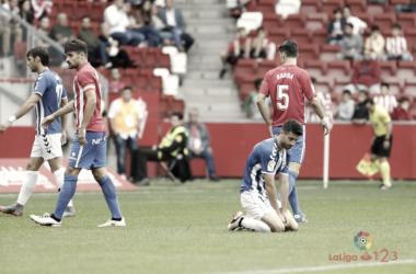 Partido Sporting-Lorca de la Jornada 6   Foto: LaLiga