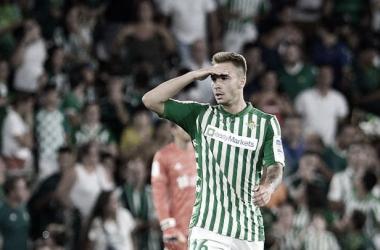 Loren Morón en un partido con el Real Betis | Fotografía: LaLiga