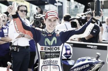 Jorge Lorenzo saldrá desde la primera posición por tercera vez esta temporada // FOTO: Movistar Yamaha MotoGP