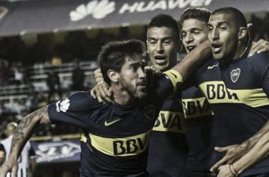Pablo Pérez, autor del segundo gol xeneize | Foto: Los Andes