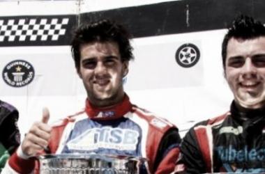 Echevarría, Urcera y Gentile en un podio del TC Mouras. Les llega el momento de demostrar de qué son capaces en el TC (Fuente: Pistas Argentinas).