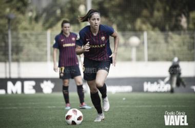 Vicky Losada ante el Espanyol | Foto: Noelia Déniz (VAVEL)