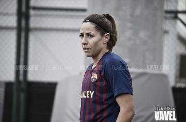 Vicky Losada, capitana del Barcelona, ante el Logroño | Foto: Noelia Déniz (VAVEL)