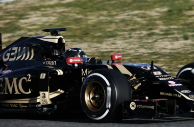 Romain Grosjean continua a mostrar a boa forma da Lotus (Foto: Lotus F1 Team)