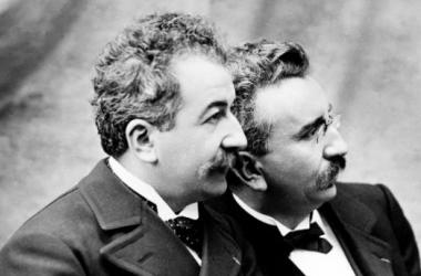 Louis y Auguste Lumière. Foto (sin efecto): Variety