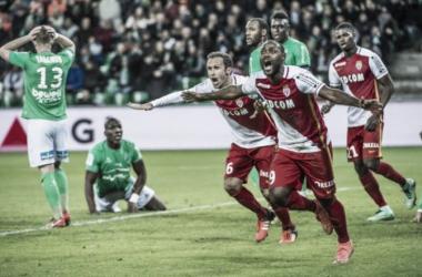 Vágner Love desencanta no dia dos namorados e Monaco arranca empate do Saint-Étienne