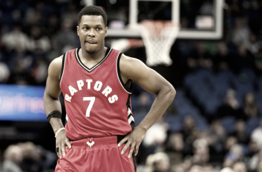 Toronto Raptors' Kyle Lowry aims to return right before the playoffs start. Photo: USA-TODAY Sports