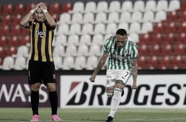 Victoria implacable en el Defensores del Chaco: Guaraní 0 - Atlético Nacional 2