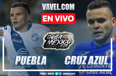Goles y resumen del Puebla 1-1 Cruz Azul en Liga MX 2021