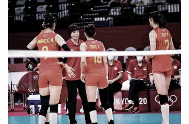 Melhores momentos de China 2 x 3 Rússia no vôlei feminino pelas Olimpíadas de Tóquio