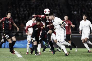 Futbolistas de Kashima y Real Madrid durante el enfrentamiento de 2016 I Foto: FIFA