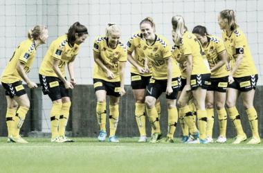 LSK Kvinner not slowed down by the summer break | Source: rb.no