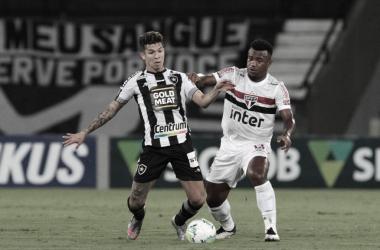 Botafogo 1 a 0 São Paulo (São Paulo FC / Divulgação)