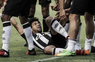 """Luan celebra volta às redes e promete 'honrar manto' do Atlético-MG: """"Lutar sempre"""""""