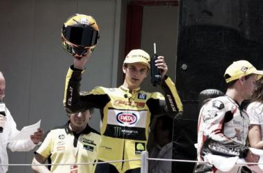 Marini participa por primera vez en un Gran Premio del Mundial de Moto2. | FOTO: Pons Racing Junior Team.