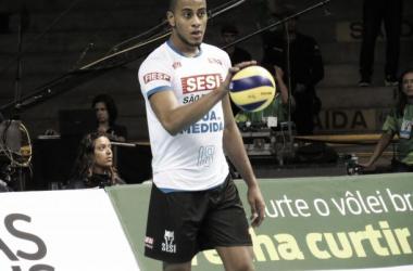 Lucarelli foi um dos destaques do Sesi na última temporada (Foto: Matheus Adler / VAVEL Brasil)