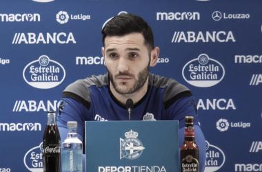 """Lucas Pérez: """"Una victoria lo cambiaría todo"""""""