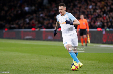 Lucas Ocampos in action for Marseille. Getty Images