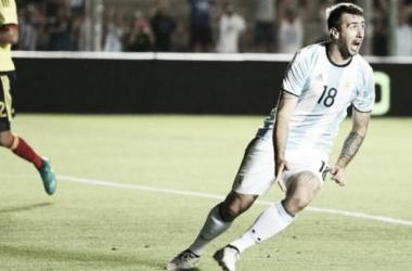El Oso luchará para convencer a Sampaoli y jugar el Mundial de Rusia (Foto: @Argentina).