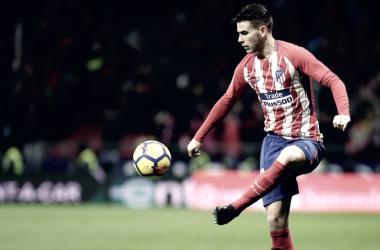 Lucas, lesión en el aductor del muslo izquierdo/ Fuente: Atlético de Madrid