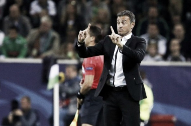 Luis Enrique destaca vitória do Barça sobre Gladbach: ''Nosso objetivo é terminar na liderança''
