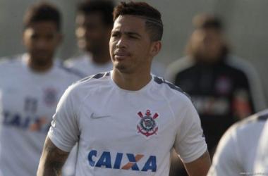 Luciano ganhou a condição de titular (Foto: Agencia Corinthians)