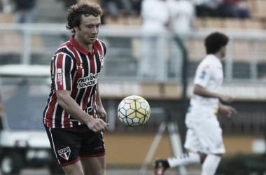 Lugano desfalca o São Paulo contra o Fluminense (Foto: Rubens Chiri/São Paulo FC)