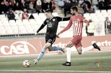 UD Almería - CD Lugo en el Mediterráneo | Fuente: LaLiga