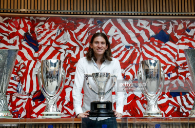 Filipe Luis pictured, won six major honours in his two spells with Atleti (Getty Images: Europa Press News)
