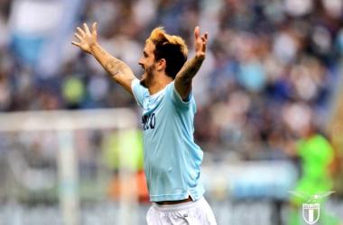 Luis Alberto, trascinatore di giornata - Foto SS Lazio Twitter