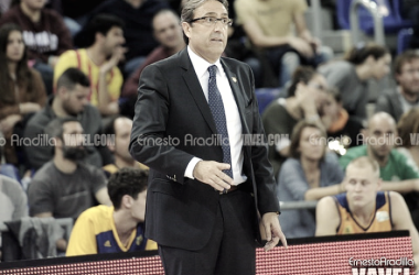 """Luis Casimiro: """"La clave de la victoria ha sido la defensa y el control del rebote"""""""