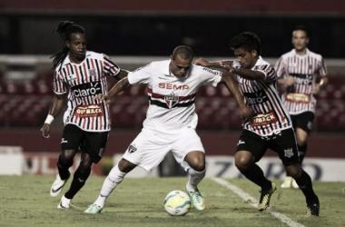Aplaudido na vitória sobre o Paulista, Luis Fabiano comenta nome gritado no Morumbi