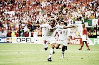 Luis Hernández (México vs Holanda, Mundial Francia 1998) | Foto: Agencias