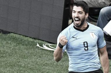 Será la tercer Copa América que disputará el goleador uruguayo || Foto: Twitter oficial