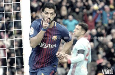 Luis Suárez, mejor jugador de la Liga en diciembre
