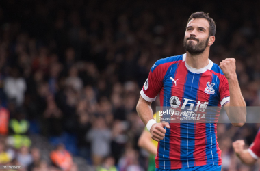 Crystal Palace's Luka Milivojevic helped his team overcame the challenge of Norwich City with the opening goal from the penalty spot in a 2-0 victory (Photo: Getty Images)
