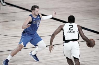 Crónica NBA: Kawhi domina, Doncic se lesiona