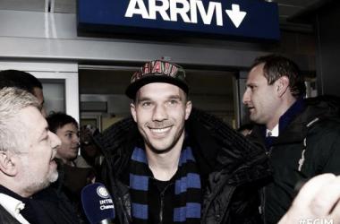 Lukas Podolski cambia Inglaterra por Italia