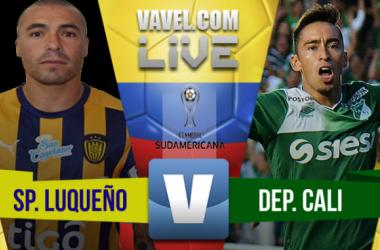 Sportivo Luqueño vs. Deportivo Cali en vivo online por Copa Suramericana (0-0)