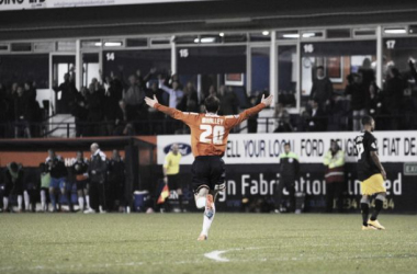 Luton Town 3-0 Mansfield Town: Whalley at the double as Hatters secure second place