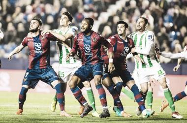 Levante UD - Real Betis: puntuaciones del Levante, Liga Santander Jornada 25